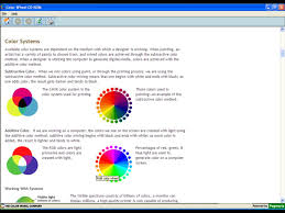 the color wheel cd rom color theory in action easy to use from a