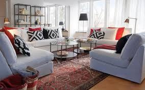 ikea coussin canapé ikea salon 50 idées de meubles exquises pour vous