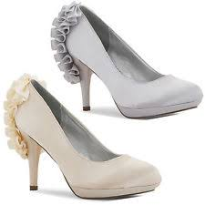 wedding shoes next satin bridal or wedding shoes next for women ebay