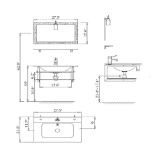 ideas standard bathroom vanity measurements standard bathroom