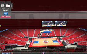 Metro Arena Floor Plan by Pistons Offer Virtual Tour Of Little Caesars Arena Will There Be