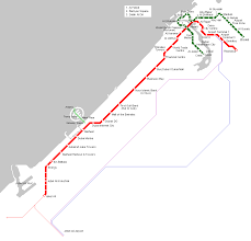 Metro Red Line Map by Uae Dubai Metro City Streets Hotels Airport Travel Map Info