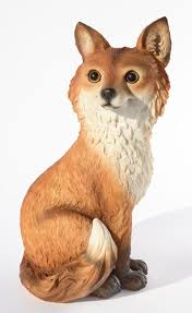 uk garden supplies fox garden ornament