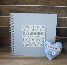 christening photo album christening album memory book by posh totty designs interiors