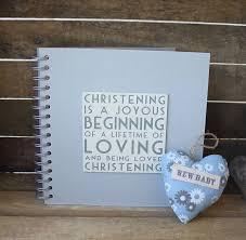 christening photo album christening album memory book by posh totty designs interiors