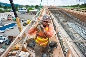 Rebar Worker Trimet U0027s Portland Milwaukie Light Rail Transit Project Continues