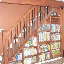 bookcase diy under stairs bookcase under stair bookcase ikea
