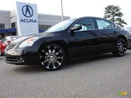 nissan altima coupe on 22 s nissan rims 2007 nissan altima 2 5 s custom wheels photo