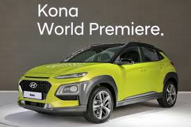 2018 hyundai kona global b segment suv reveals youthful styling