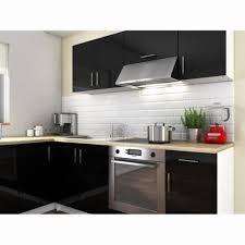 cosy cuisine meuble cuisine noir laqué luxury caisson meuble cuisine sans porte
