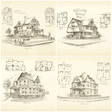 remodelaholic 20 free vintage printable blueprints and diagrams
