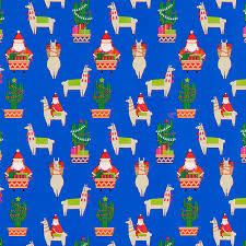 llama wrapping paper llamas are the unlikely decorating for christmas this year