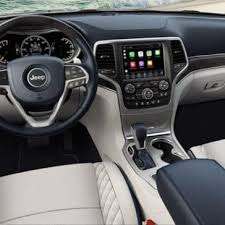 jeep grand cherokee interior 2018 2018 jeep grand cherokee model info msrp trims features photos