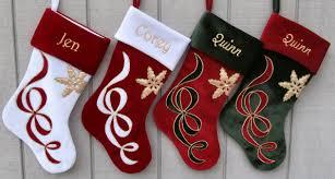 Stocking Designs by Olive Green Velvet Christmas Stocking