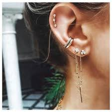 best earrings to sleep in cartilage piercings ultimate guide with images