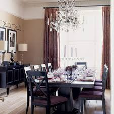 curtain dining table decorating ideas curtains dining room
