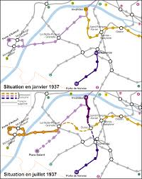 Map Of Paris Metro by File Paris Metro Modification Des Lignes 8 10 Et 14 Svg