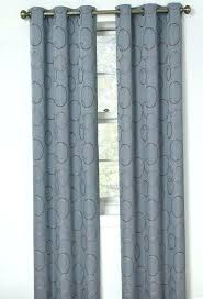 Gray Blackout Curtains Target Grommet Curtains Eclipse Light Blocking Curtain Panel Grey