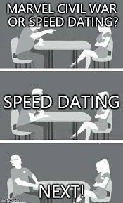 Geek Speed Dating Meme - speed dating memes imgflip