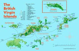 British Isles Map British Virgin Islands Map