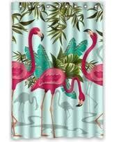 Flamingo Bathroom Black Friday Special Ykcg Pink Flamingo Tropical Floral Palm