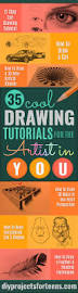 35 cool but easy drawing tutorials for the artist in you diy
