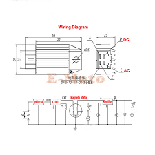 12v voltage regulator rectifier gy6 qmb139 4pin 50cc 150cc scooter