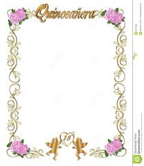 Quinceanera Invitation Cards Quinceanera Invitation 15th Birthday Party Royalty Free Stock
