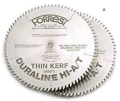 forrest table saw blades forrest duraline hi a t saw blades lee valley tools
