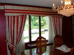 curtain ideas for dining room inspiring dining room curtains patterned or plain ruchi designs
