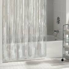 Bathroom Hardware Ideas Interactive Transparent Clear Shower Curtain Concept Of Wonderful