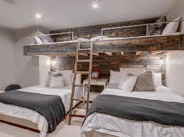 Rustic Bunk Bed Plans Twin Over Full by These Cool Built In Bunk Beds Will Have You Wanting To Trade Rooms