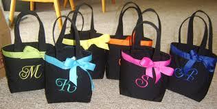 bridesmaids bags tote bags monogrammed mesh bridesmaids tote bags