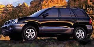 2002 hyundai santa fe v6 2002 hyundai santa fe utility 4d lx 4wd v6 safety ratings 2002