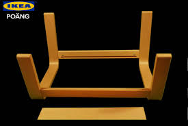 Ikea Poang Ottoman How To Assemble Ikea Poang Footrest Stop Motion