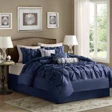 Navy Blue Bedding Set Navy Comforter Sets Buy From Bed Bath Beyond 9 Awesome Best