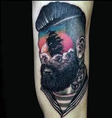 top 75 best sailor tattoos for men classic nautical designs