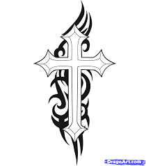 cross and flames tattoo google search tattoos pinterest
