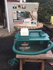 green upholstery cleaner bissell green clean machine 1653 carpet upholstery cleaner ebay