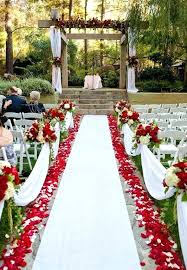 outside wedding decor awesome outdoor wedding aisles wedding