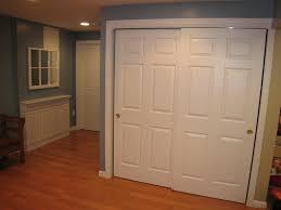 Asian Closet Doors Wood Sliding Closet Doors Tri Panel Pass 4 Multi Barn Door