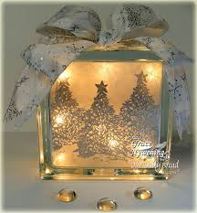 th ink ing of you a glass block gift idea to make pinterest
