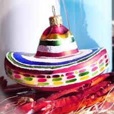 sombrero ornament by ornaments to remember