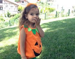 Pumpkin Halloween Costume Pumpkin Costume Etsy