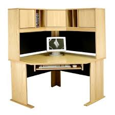 Oak Computer Desk With Hutch by Computer Corner Desks You U0027ll Love Wayfair