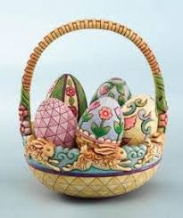 jim shore easter baskets jim shore heartwood creek welcome easter basket w 4 eggs