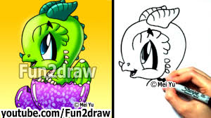 how to draw a dragon baby dragon learn to draw art lessons