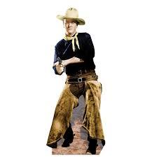 life size john wayne on horse walljammer wall decal john wayne with chaps