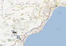 Marbella Spain Map by Moving Matters Sl Roy Trevor Removals