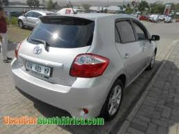 toyota auris used car 2012 toyota auris used car for sale in barkly northern cape